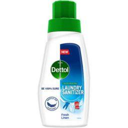 Dettol After Detergent Wash Liquid Laundry Sanitizer, Fresh Linen - 480ml