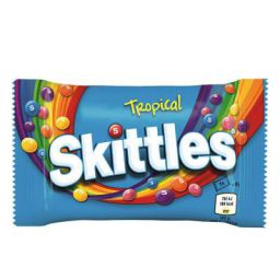 Skittles Tropical Flavour Candy, 45 g