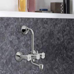 Hindware F920035 Lyra Mixer Faucet (Wall Mount Installation Type)