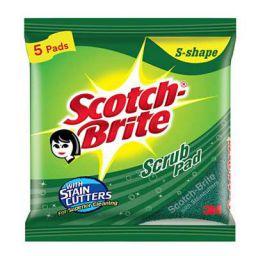 Scotch-Brite Scrub Pad (Regular) - Pack of 5