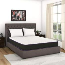 Flipkart Perfect Homes Sleep Box with Sleep Accessories 4 inch Queen PU Foam Mattress