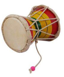 Nawaab 4 Inch Damru Hand Percussion Handmade Indian Musical Instrument