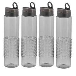 Steelo Sitara Water Bottle 1000ml Set of 4 Grey