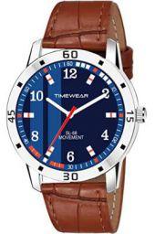 TIMEWEAR Analogue Mens Watch (Blue Dial)