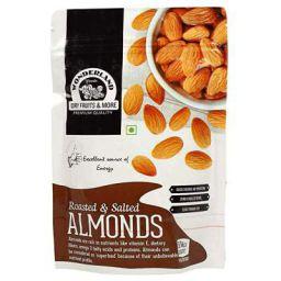 Wonderland Foods California Roasted & Salted Almonds 200g