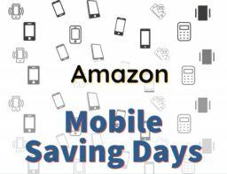 Amazon Mobile Savings days Offer: 6th-9th September 2021