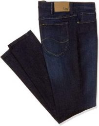 Lee Mens Skinny Fit Denim Jeans (L36285248SMUJSW-INDIGO36_36) Blue