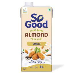 So Good Almond Fresh Vanilla, 1L