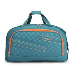 Priority ARC 61 cms Aqua Blue 2 Wheel Duffle Travel Luggage