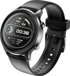 Noise Fit Active Smartwatch (Black Strap, Regular)