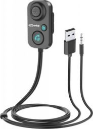 Portronics v5.0 Car Bluetooth Device with Transmitter, Audio Receiver