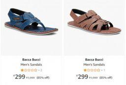 Bacca bucci footwear minimum 70% off starting at Rs.284