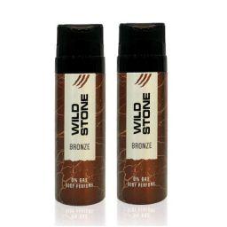 Wild Stone Bronze Deodorant 120ml (pack of 2) SF Wide Stone 45 SF Layer 58