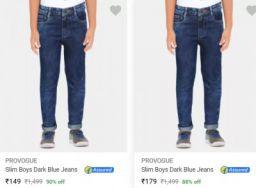 Provogue Kids Jeans Upto 84% Off