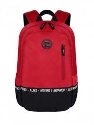 Gear Bomber Eco Statement 2C 25 Ltrs Red Black School Backpack (BKPECOSNT0901)