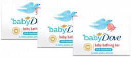 baby Dove Rich Moisture Bar (3 x 75 g)