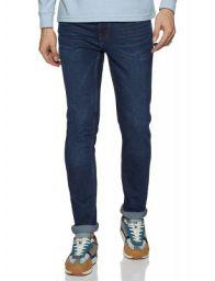 Red Tape Men Dark Blue Jeans Skinny