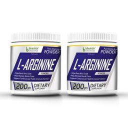 Bhumija Lifesciences L-Arginine Pre-Workout (Amino Acid) Powder 200g, Pack Two