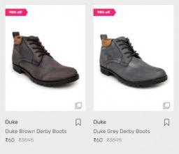 Duke Footwear at 98% OFF