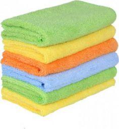 Sheen Microfiber Vehicle Washing Cloth(Pack Of 6)