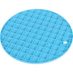 Clazkit Silicone Round Grid Mat for Kitchen Dinning, Set of 2 (Round Shape)