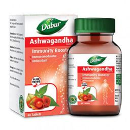 Dabur Ashwagandha Tablet - Immunity Booster | Rich in Anti Oxidants - 60 tablets