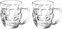 TREO CASCADE COOL Glass Beer Mug(292 ml, Pack of 2)