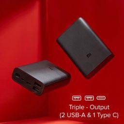 Mi Pocket Power Bank Pro Black 10000mAh, Triple Output and Dual Input Port, 22.5W Ultra Fast Charging