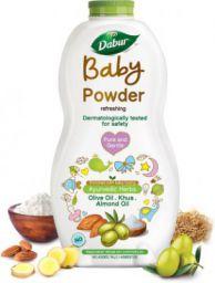 Dabur Baby Powder No added Talc & Asbestos |Contains Oat Starch |No Parabens & Phthalates (150 g)
