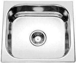 Prestige (18x16x8 inch) 'Oval single bowl' Stainless steel Chrome Finish kitchen