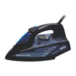 INALSA Steam Iron Onyx 2200 with Power Indicator Light | 2200 W, (Black/Blue)