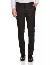Amazon Brand - Symbol Men's Slim fit Formal Trousers