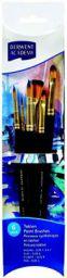 Derwent Academy Taklon Large Brush Set Acetate (Pack of 6)