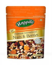 Happilo Premium International Nuts and Berries, 200g