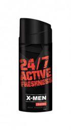 X-MEN Charge Body Deodorant, 150 ml