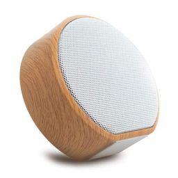 OVIBO Mega Bass 1800 Wooden Bluetooth Speaker 3W, Wireless Speaker Bluetooth 4.0 Support TF FM Radio