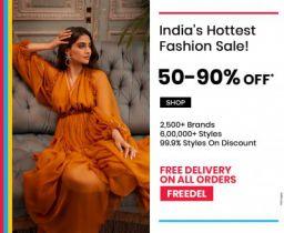 Ajio Indias Hottest Fashion Sale | 50% To 90% Off