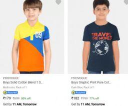 Provogue Kids Clothing Upto 85% Off