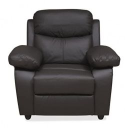 @home by Nilkamal Civic 1 Seater Sofa MEGA Brown