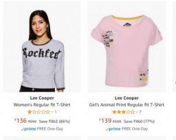 Lee Cooper Kid's Clothing Upto 86% Off