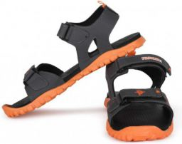 PROVOGUE Men Grey, Orange Sandal