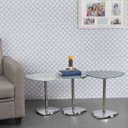 Home Centre Enzo Nest of Tables- 3 Pcs