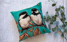 b7 CREATIONS Jute Cushion Covers, 16 inch × 16 inch | Pack of 5 Pcs 3035.Q5