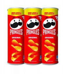 Kelloggs Pringles Original, 3 x 321 g