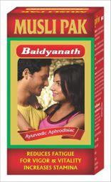 Baidyanath Musli Pak - Made with Pure Safed Musli for Strength and Vitality - 100g
