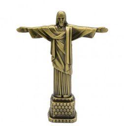 zahab Metal Statue Jesus, Standard, Bronze