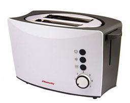 Butterfly ST 01 800-Watt 2-Slice Pop-up-Toaster (White/Black)