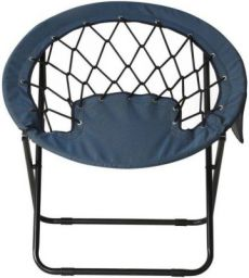 @Home by nilkamal Fancy Metal Outdoor Chair(Knock Down)