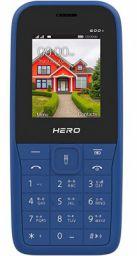 Lava Hero 600+ Sapphire Blue with Auto Call Recording and FM Recording