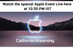 Amazon - Apple Live Event At 10:30 PM